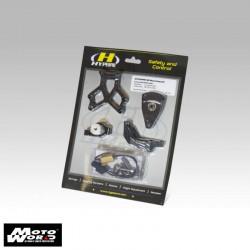 Hyperpro MKDU06T001B Steering Damper Mounting Kit for Ducati Monster 696 11100 (S) 08