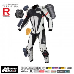 Komine S 51 Titanium Leather Suit