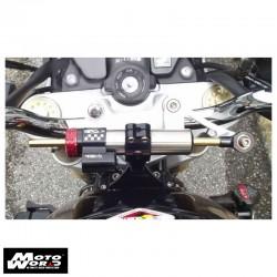 Matris 2H2240 Steering Damper M2 Kit for Honda Hornet 600 05-06/Nero