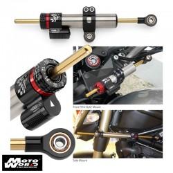 Matris 2S1041 Race Series Steering Damper Kit for Suzuki GSXR 01