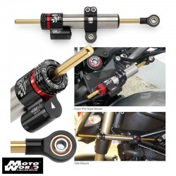 Matris 2S1151 Race Series Steering Damper Kit for Suzuki GSR600 06
