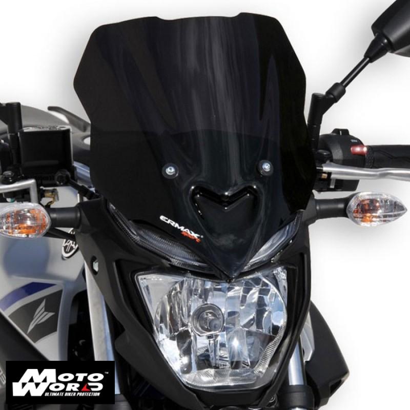 Ermax 060247129 Satin Black Sport Screen for MT03 16-19