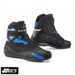 TCX 9505 Rush Black Blue Motorcycle Boots