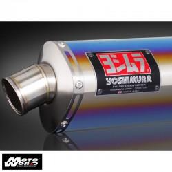 Yoshimura 110303A5N80B JMCA Carbon End Tri Cone Exhaust System
