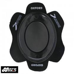 Oxford OX687 Black Rok Oval Knee Sliders