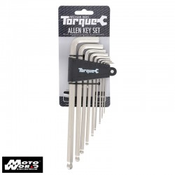 Oxford TL120 Torque Allen Key Set 1.5-10mm