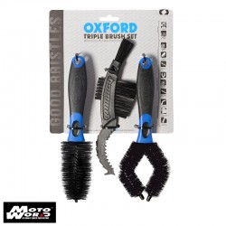 Oxford OX244 Triple Brush Set
