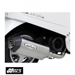 Remus 0101751112 Sport Exhaust for Vespa Plaggio LX125IE 3V 12