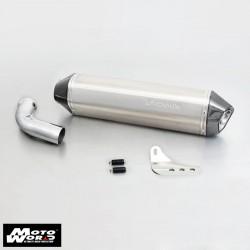 Remus 0105085206 54mm Hexacone Exhaust Muffler for BMW F800S 06