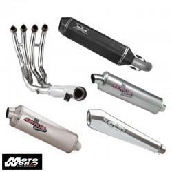 Remus 0124852005 Slip on Aluminium Link Pipe for Suzuki DRZ400SM