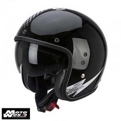 Scorpion Belfast Volt Black-White Helmet