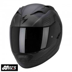 Scorpion EXO-1200 AIR Alias Matt-Black-Argent Motorcycle Helmet