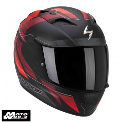 Scorpion EXO-1200 AIR Hornet Neon Red Motorcycle Helmet
