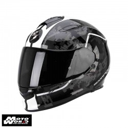 Scorpion EXO-510 AIR Guard Black-White Motorcycle Helmet