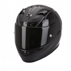 Scorpion EXO 710 Air Spirit Glossy-Matte Black Full Face Motorcycle Helmet
