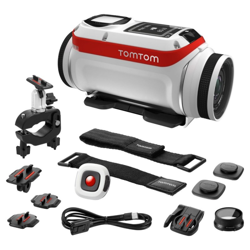 TomTom 1LB0.001.01 Bandit Action Camera Premium Pack