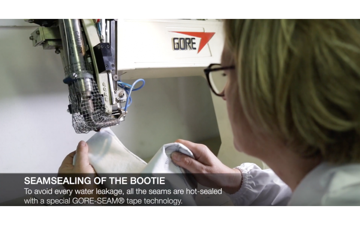 TCX® GORE TEX boot | How it's made