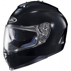 HJC IS-17 Solid Black XL Full Face Helmet