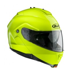 HJC IS Max 2 Fluorescent Green Modular Helmet