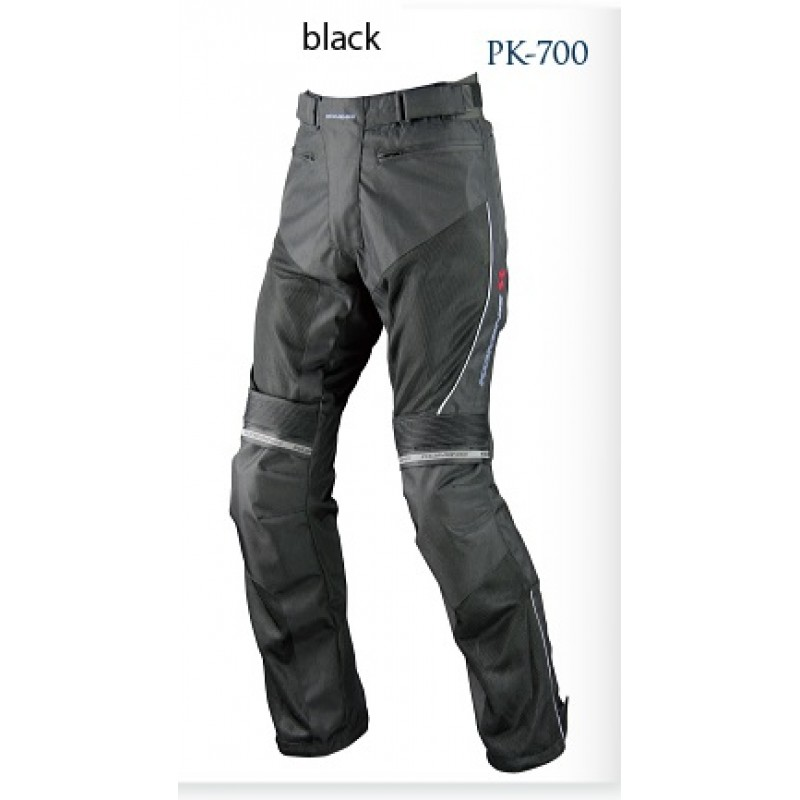 Komine PK 700 Protect Riding Mesh Pants Birancia Black Colour