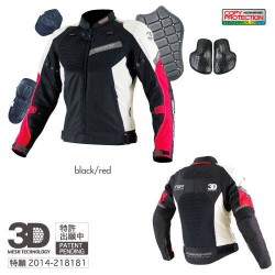 Komine JK 079 Air Stream Mesh Jacket 3D
