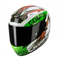 Scorpion EXO-2000 EVO AIR Bautista Replica Black-Green-Red Full Face Motorcycle Helmet