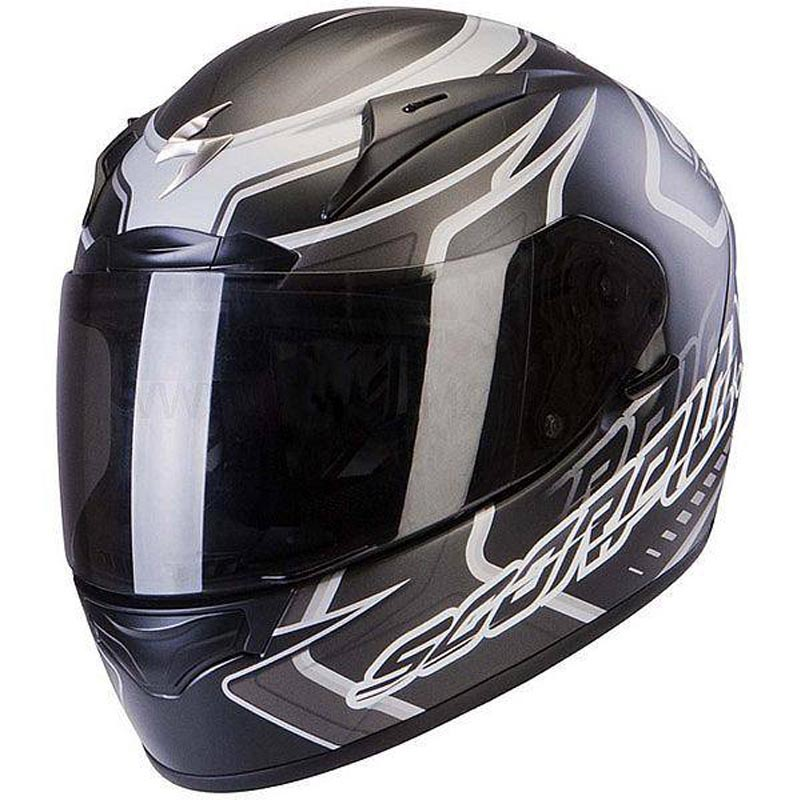 Scorpion EXO-2000 EVO AIR Circuit Matt Black Full Face Motorcycle Helmet