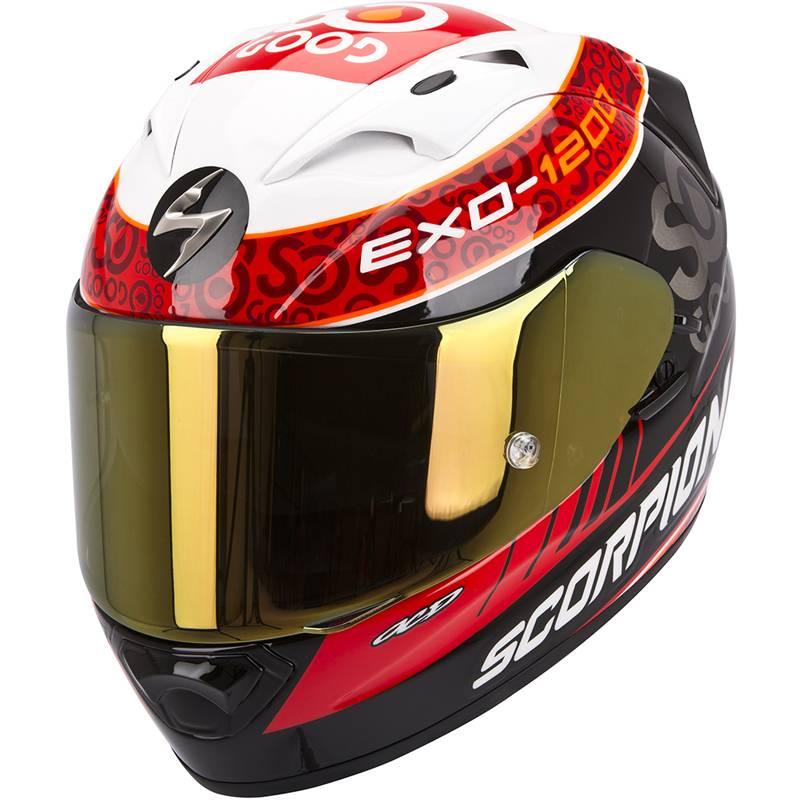 Scorpion EXO-1200 Charpenter Replica Full Face Motorcycle Helmet