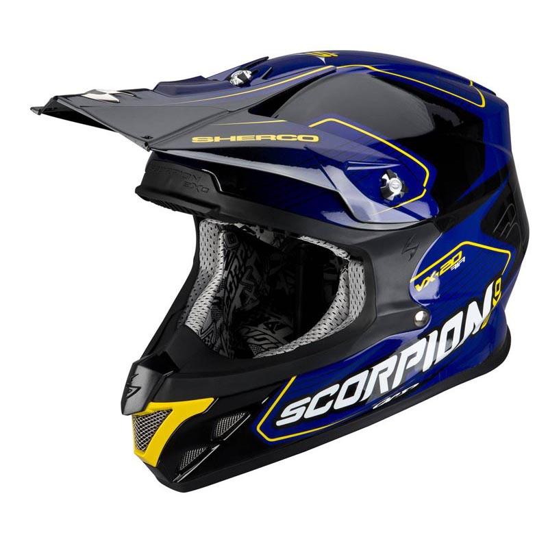 Scorpion VX-20 AIR Sherco Off-Road Motorcycle Helmet