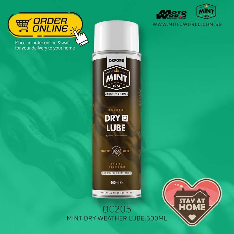 Mint OC205 Dry Weather Lube 500ml