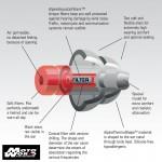 Alpine ALP 111.23.112 Motosafe Pro Ear Plug