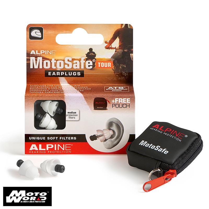 Alpine ALP 111.23.110 Motosafe Tour Ear Plug