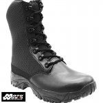 Altai MFT100-Z 8 Inch Waterproof Side Zip Black Tactical Boots