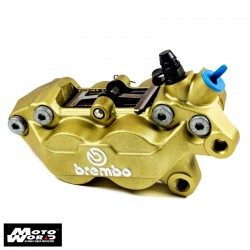 Brembo 20516558 Caliper Gold P4-30/34 Front Left With Pads (07442645)
