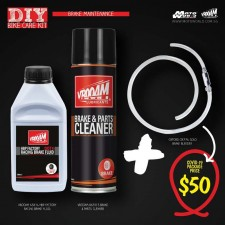 DIY Brake Maintenance Kit - Vrooam DIY Bike Care Kits