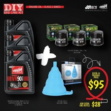 Engine Oil Class 2 Bikes Kit - Vrooam DIY Bike Care Kits