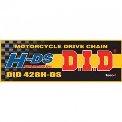 DID D 428HDS Chain Roller - Silver