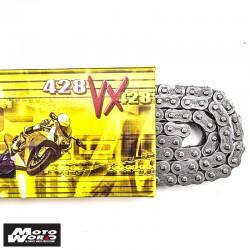 DID D 428VX Pro Street X-Ring Chain - Silver