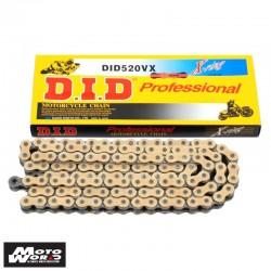 DID D 520VX Pro Street X-Ring Chain - Silver