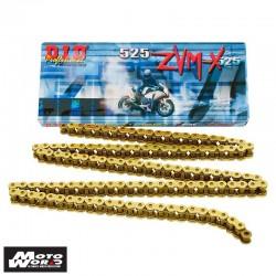 DID D 525ZVMXGG 120 Super Street X-Ring Chain