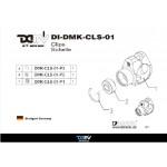DMV DIDMKCLS01G Clip Schelle - Gold