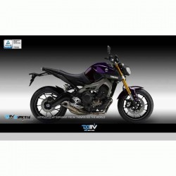 DMV DIFGMKYA08FGEK DI-FGMK-YA-08-FGE-K Fairing Guard For Yamaha MT-09