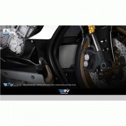 DMV DIOCPCYA01K DI-OCPC-YA-01-K Oil Cooler Protective Cover For Yamaha - Black
