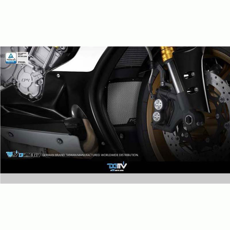 DMV DIOCPCYA01K DI-OCPC-YA-01-K Oil Cooler Protective Cover For Yamaha - Black
