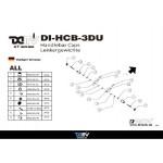 DMV DIHCB3DU Bid 3D Handlebar Caps