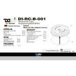 DMV DRCB001 RSV4 1000 09-13 Clutch Reservoir Caps