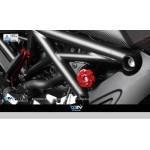 DMV DIAACDU01G Diavel 10-13 Absorber Adjuster Cover - Gold