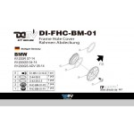 DMV DIFHCBM01 R1200R 07-14 Frame Hole Cover