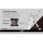 DMV DIFAS3DKA03G ER6N 12- 3D Front Axle Slider - Gold