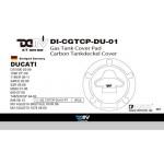 DMV DICGTCPDU01 DS1000 03-09 Gas Tank Cap Pad